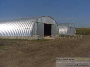 ангар под зернохранилище
